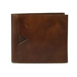 Ví Nam Guess Men's Leather Slim Bifold - 31GU130015 Màu Nâu