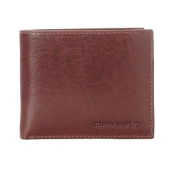 Ví Nam Tommy Hilfiger Men'sLeather Passcase Wallet With Removable Card - 31TL22X002 Màu Nâu