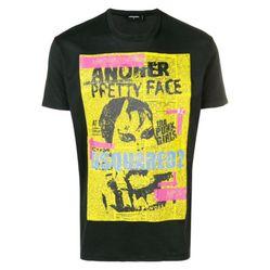 Áo Phông Dsquared2 Another Pretty Face T-Shirt Màu Đen Size XS