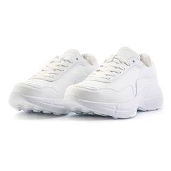 Giày Domba Moonlake White H-9214 Màu Trắng Size 38.5