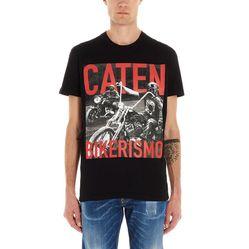 Áo Phông Dsquared2 Bikerismo T-Shirt Màu Đen