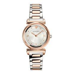 Đồng Hồ Versace V-Motif Rose Gold Watch VERE00718 35mm Cho Nữ