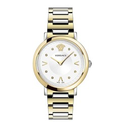 Đồng Hồ Versace Pop Chic Lady Two Tone Ladies Watch VEVD00519 36mm Cho Nữ