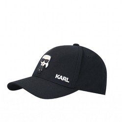 Mũ Karl Lagerfeld Baseball Cap-Black Màu Đen