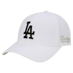 Mũ MLB Unisex Dodgers 32CP05831-07W Màu Trắng