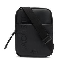 Túi Đeo Chéo Lacoste S Flat Crossover Bag Shoulder Bag Màu Đen