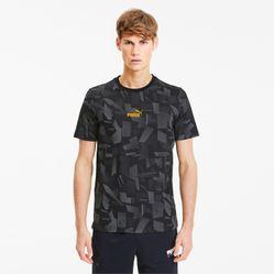 Áo Thun Puma Summer Print Men's Aop Tee Màu Xám Đen