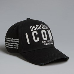 Mũ Dsquared2 Embroidered Baseball Icon Cap Màu Đen
