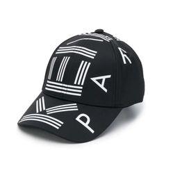 Mũ Kenzo Logo-Print Baseball Cap Màu Đen