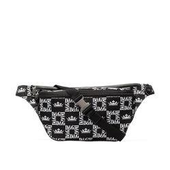 Túi Đeo Hông Dolce & Gabbana Logo-Print Belt Bag Màu Đen