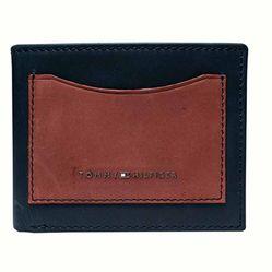 Ví Tommy Hilfiger Men's Billfold Wallet Màu Đen Nâu