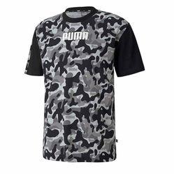 Áo Thun Puma Rebel Camo T-Shirt Màu Đen Size XS