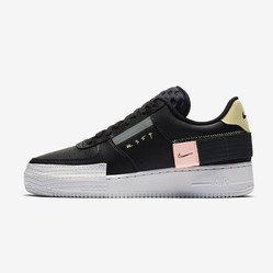 Giày Nike Air Force 1 Type Black CI0054-001 Màu Đen