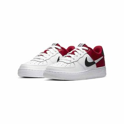 Giày Sneaker Nike Air Force 1 LV8 1 GS AF1 NBA Red Màu Trắng Đỏ