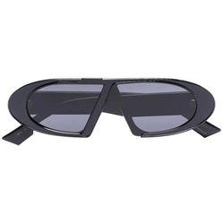 Kính Mát Dior Eyewear CD Oval Sunglasses Màu Đen