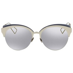 Kính Mát Dior Grey Silver Cat Eye Ladies Sunglasses Màu Xám