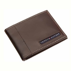 Ví Nam Tommy Hilfiger Mens Cambridge Slim Billfold - Màu Nâu 5663/02