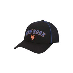 Mũ MLB Uniform Piping Curved Cap New York Yankees Màu Đen