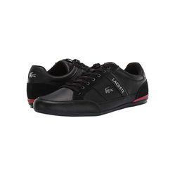 Giày Lacoste Chaymon 319 Màu Đen Đỏ Size 43