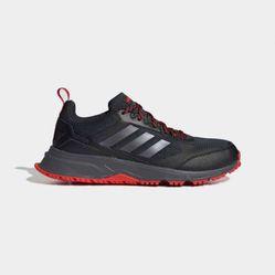 Giày Thể Thao Adidas Rockadia Trail 3.0 Màu Đen Phối Cam