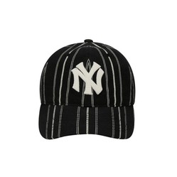 Mũ MLB Coopers Stripe Ball Cap New York Yankees 32CPPE011-50L Màu Đen