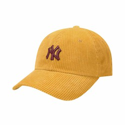 Mũ MLB Corduroy N-Cover Ball Cap New York Yankees 32CPYE011-50D Màu Vàng