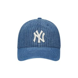 Mũ MLB Denim Stripe Ball Cap New York Yanyees 32CPDY011-50U Màu Xanh Bò