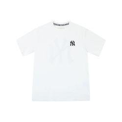 Áo Phông MLB New York Yankees Popping Big Logo Short Sleeve T – Shirt White Size 90