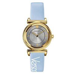 Đồng Hồ Versace V-Motif Gold - VERE00318 Màu Xanh Blue