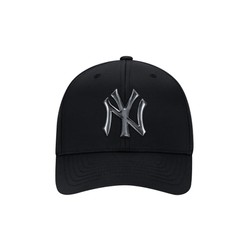 Mũ MLB Hologram Cureved Cap 32CPKZ011-50L Black New York Yankees Màu Đen
