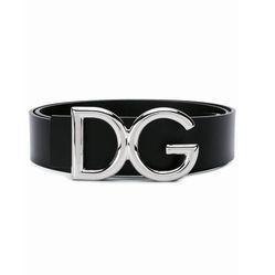 Thắt Lưng Dolce & Gabbana Buckle Belt Bản 3,5cm Màu Đen