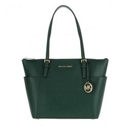 Túi Tote Michael Kors Jet Set Item EW TZ Tote Racing Green