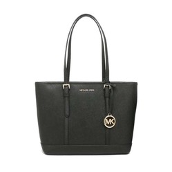 Túi Tote Michael Kors Jet Set Travel Small Top Zip Shoulder Tote Bag 35S0GTVT1L In Black Màu Đen