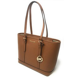 Túi Tote Michael Kors Jet Set Travel Small Zip Top Tote Shoulder Bag Luggage Brown