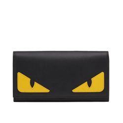 Ví Fendi Bag Bugs Continental Wallet Màu Đen