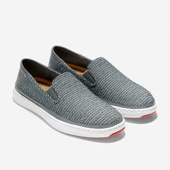 Giày Lười Cole Haan Cloudfeel Loafer Màu Xám Size 40.5