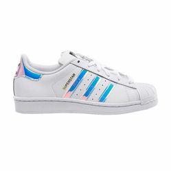 Giày Sneaker Adidas Superstar Hologram Màu Trắng