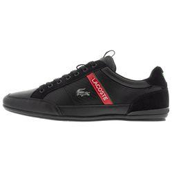 Giày Thể Thao Lacoste Chaymon 120 Carbon Màu Đen Đỏ