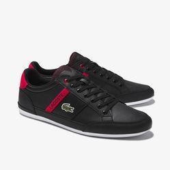 Giày Thể Thao Lacoste Chaymon 120 Màu Đen Đỏ Size 41