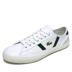 Giày Thể Thao Lacoste Sideline 120 Màu Trắng Xanh Size 43