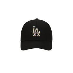Mũ MLB Mirror Curve Adjustment Cap LA Dodgers Màu Đen