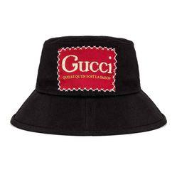 Mũ Tròn Gucci Bucket Hat Màu Đen
