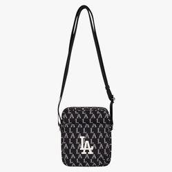 Túi MLB Monogram Cross Bag LA Dodgers 32BGD2011-07L Màu Đen
