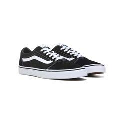Giày Thể Thao Vans Ward Black/White Màu Đen