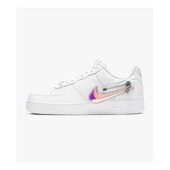 Giày Thể Thao Nike Air Force 1 White Zip Swoosh Màu Trắng