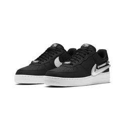 Giày Nike Air Force 1 Black Zip Swoosh Màu Đen