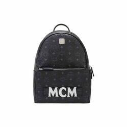 Balo MCM Trilogie Stark Backpack Màu Đen