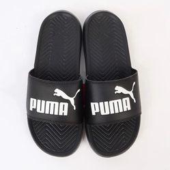Dép Quai Ngang Puma Popcat 360265-10 Màu Đen