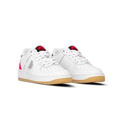 Giày Nike Air Force 1 NBA White/Bright Crimson Màu Trắng