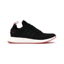 Giày Thể Thao Adidas NMD R2 Black Red Màu Đen Size 36